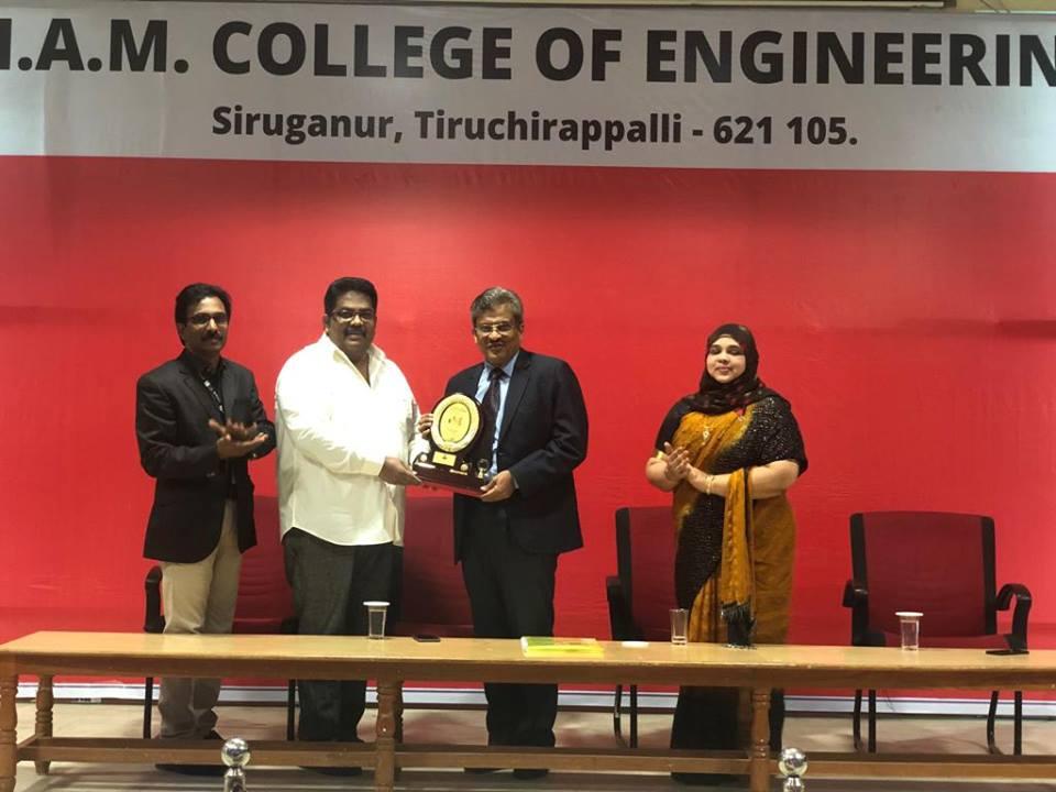 EDC Organised Motivational Talk For Future Engineers